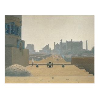 Main Street in Samarkand, Early Morning, 1869-70 Postcard