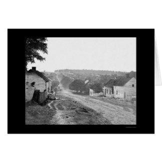Main Street in Sharpsburg, MD 1862 Card