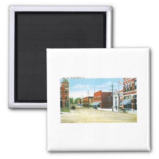 Main Street, Middlebury, Vermont Magnet