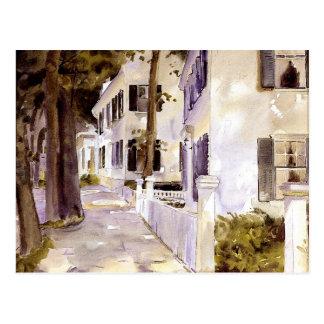 Main Street, Nantucket Postcard