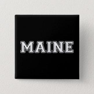Maine 15 Cm Square Badge