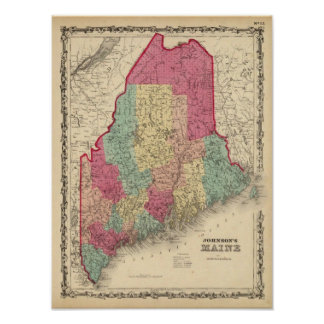 Maine 9 poster