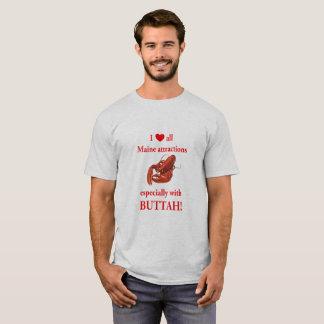 Maine Attraction - Lobstah w/ Buttah T-Shirt
