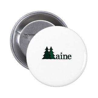 Maine 6 Cm Round Badge