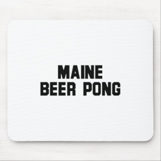 Maine Beer Pong Mouse Pad