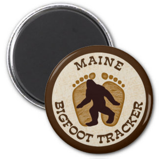 Maine Bigfoot Tracker Magnet