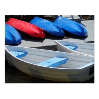 Maine Boats Postcard