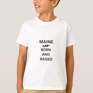 Maine Born and Raised T-Shirt