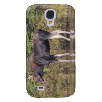 Maine Bull Moose Samsung Galaxy S4 Cases