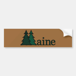 Maine Bumper Sticker