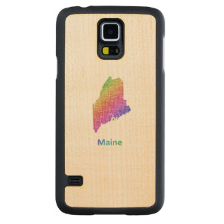 Maine Carved Maple Galaxy S5 Case