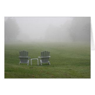 Maine chairs card