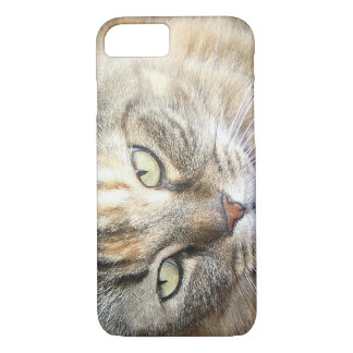Maine coon cat eyes iPhone 7  case