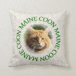 maine coon cushion