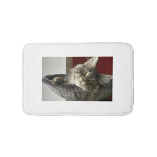 Maine Coon Kitten Bath Mat