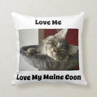 Maine Coon Kitten Cushion