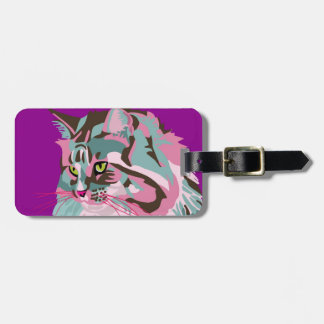 Maine Coon Luggage Tag