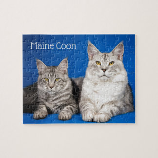 Maine Coons Cats Jigsaw Puzzle