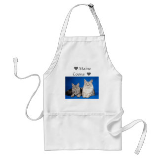 Maine Coons Cats Standard Apron