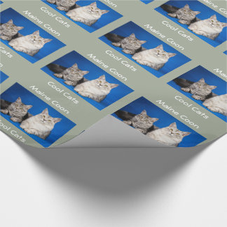 Maine Coons Cats Wrapping Paper