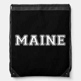 Maine Drawstring Bag