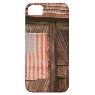 Maine, Faded American flag on door of old barn Case For The iPhone 5