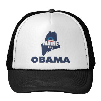 MAINE FOR OBAMA MESH HATS