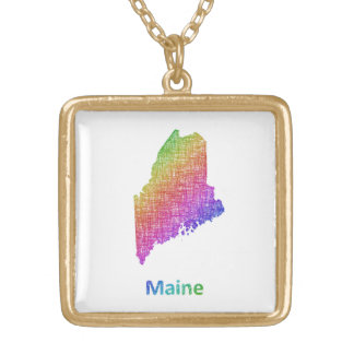 Maine Gold Plated Necklace