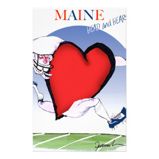 maine head heart, tony fernandes stationery