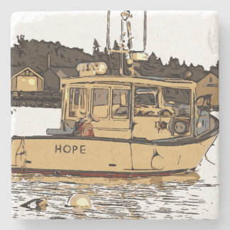 MAINE - HOPE STONE COASTER