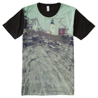 maine lighthouse tee All-Over print T-Shirt