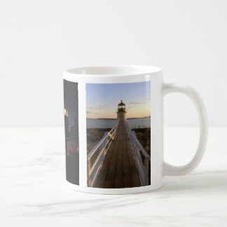 Maine Lighthouses Pemaquid Marshall Quoddy Mug