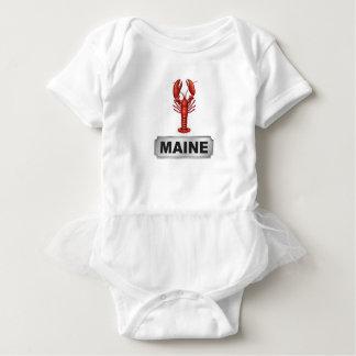 Maine lobster baby bodysuit