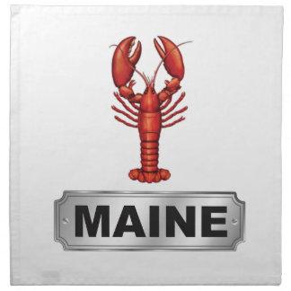 Maine lobster napkin