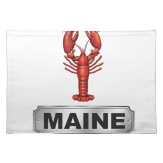Maine lobster placemat