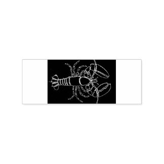 Maine lobster rubber stamp