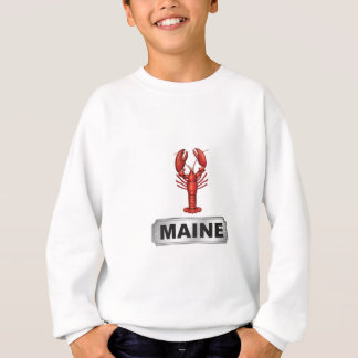 Maine lobster sweatshirt