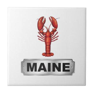 Maine lobster tile