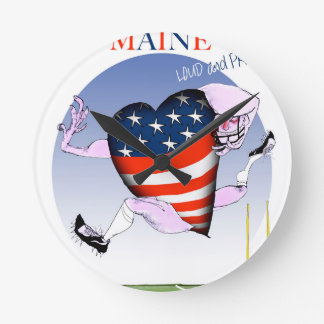 maine loud and proud, tony fernandes round clock