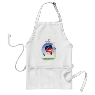 maine loud and proud, tony fernandes standard apron