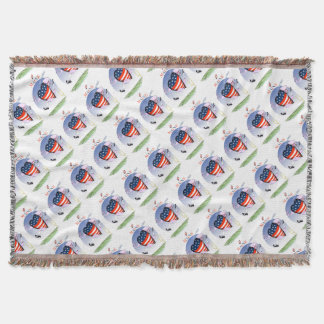 maine loud and proud, tony fernandes throw blanket