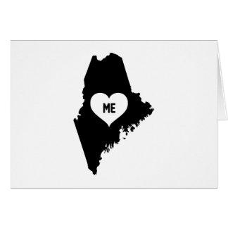 Maine Love Card