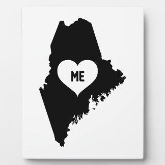 Maine Love Plaque