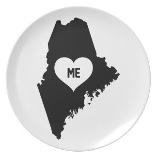 Maine Love Plate