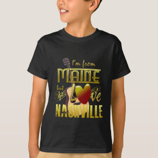 Maine Loves Nashville Kids' T-Shirt