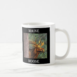 Maine Moose Coffee Mug
