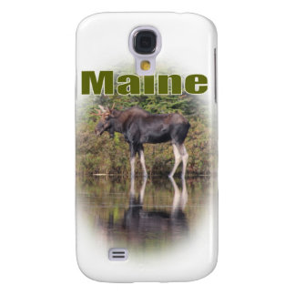 Maine Moose Galaxy S4 Cases