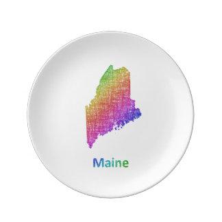 Maine Plate
