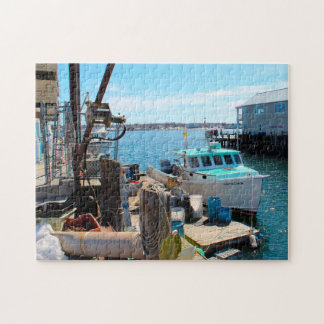 Maine Portland Harbor. Jigsaw Puzzle
