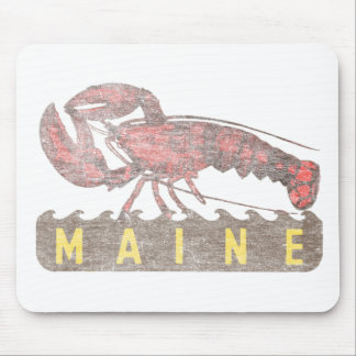 Maine Red Lobster Mouse Pad